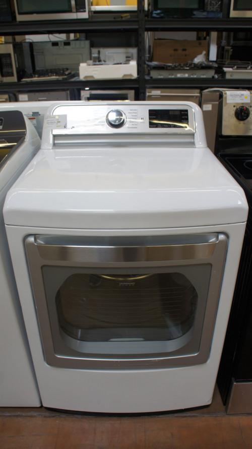 LG TurboSteam DLGX7801WE Gas Dryer