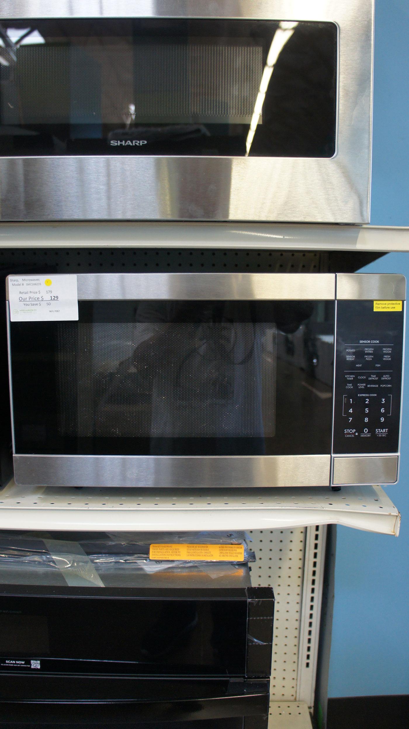 Sharp SMC1662DS Microwave