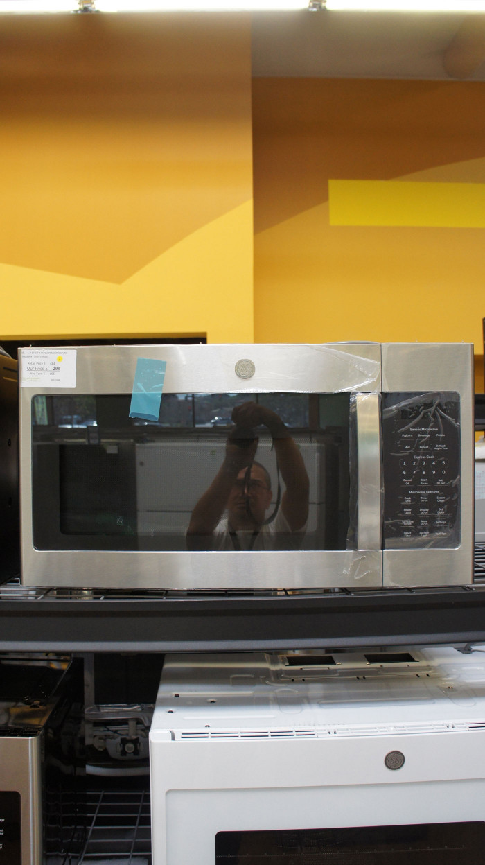 GE JNM7196SKSS Microwave Oven
