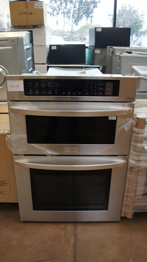 LG LWC3063ST Smart Combination Wall Oven