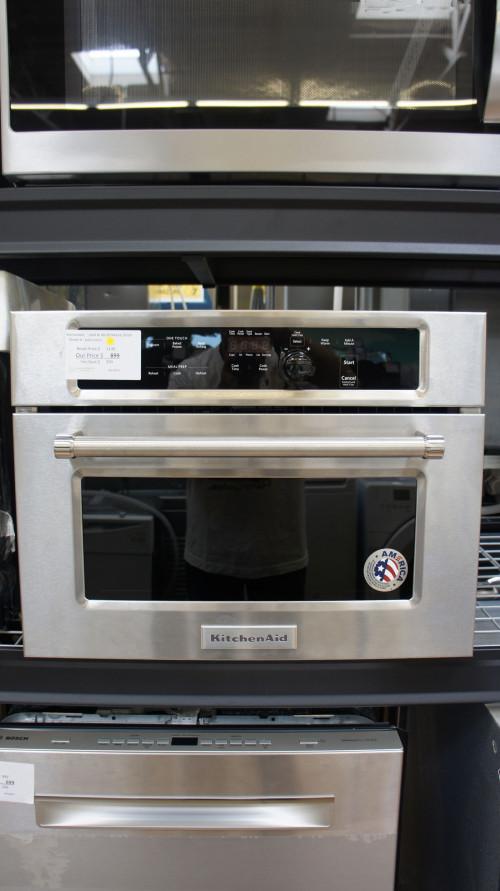 """24"""" KitchenAid KMBS104ESS Microwave"""