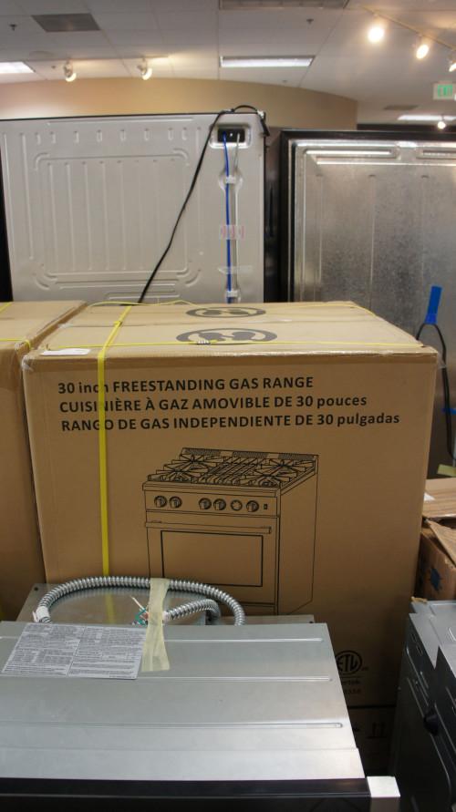 Forno FFSGS6282-30 Oven Gas Range
