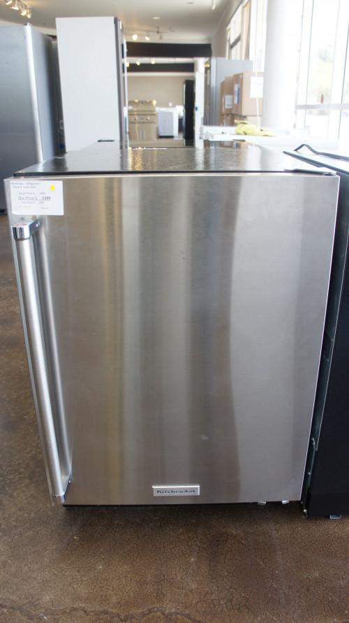 KitchenAid KURR104ESB 4.9-cu ft Built-In/Freestanding Mini Fridge