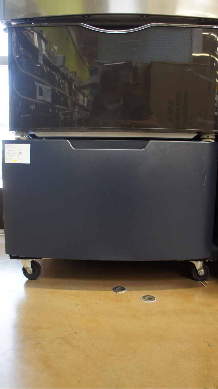 GE Laundry Storage Pedestal Drawer