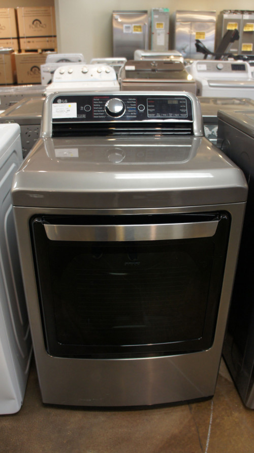 LG DLGX7801VE Gas Smart Dryer