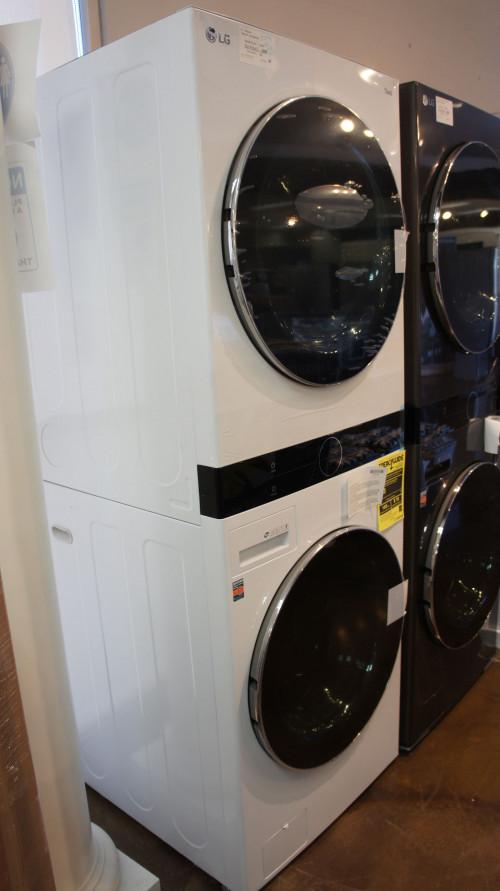 LG Electric Single Unit WashTower