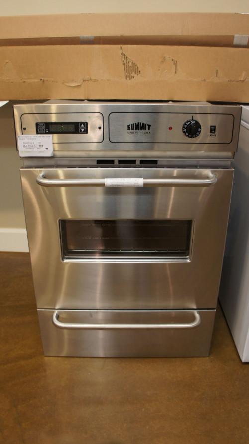 Summit Appliance TTM7882BEKW Single Wall Gas Ove