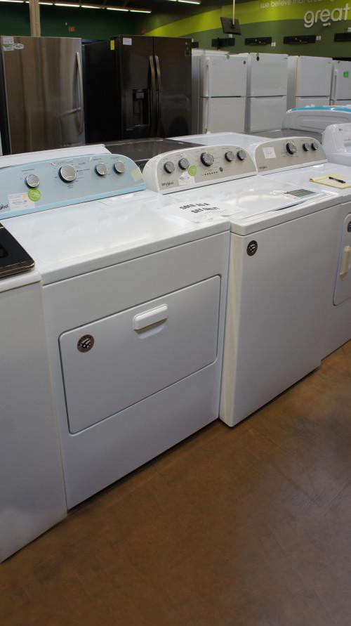 Whirlpool WTW4816FW WED5000DW Washer Electric Dryer Set