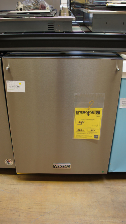 Viking VDWU324SS Fully Integrated Dishwasher