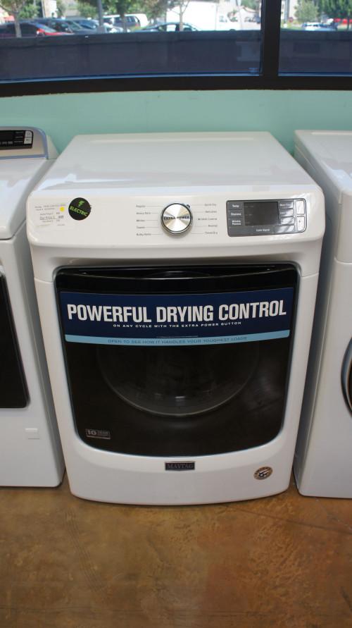 Maytag MED5630HW Front Load Electric Dryer
