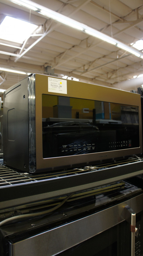 Samsung ME21R706BAT Over The Range Microwave