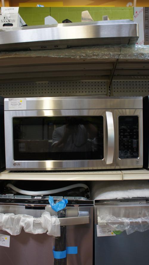 LG LMV1831SS Over-the-Range Microwave