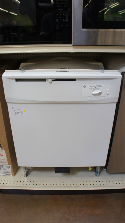 GE GSD2100VWW Fully Integrated Dishwasher