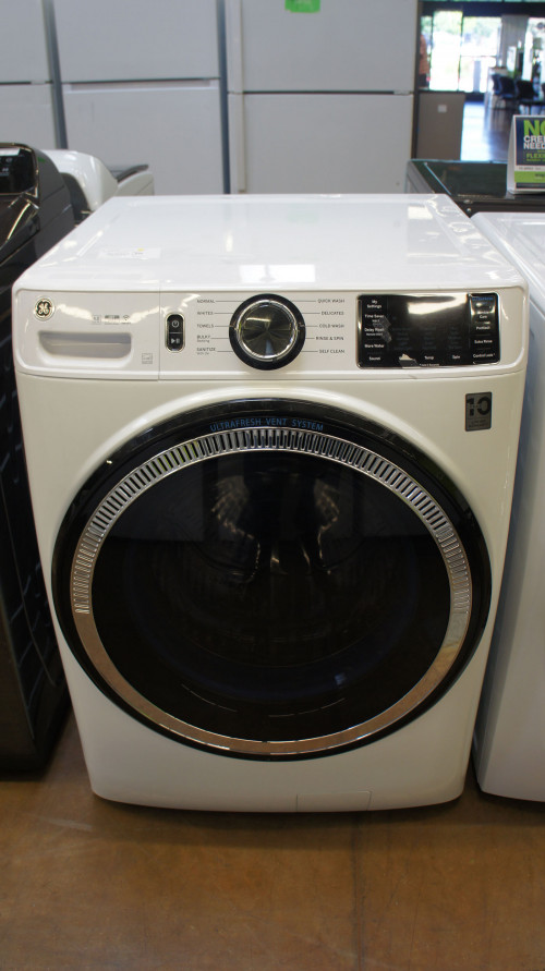 GE GFW550SSNWW Front Load Smart Washer