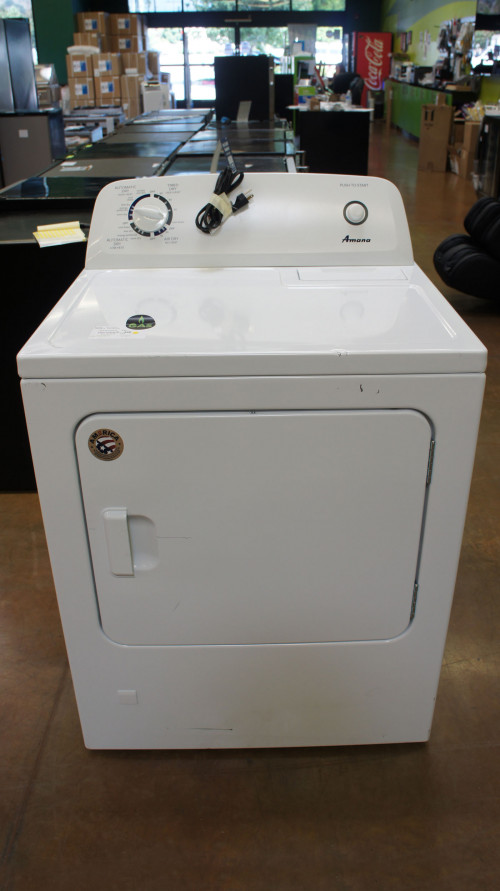 Amana NGD4655EW Front Load Gas Dryer