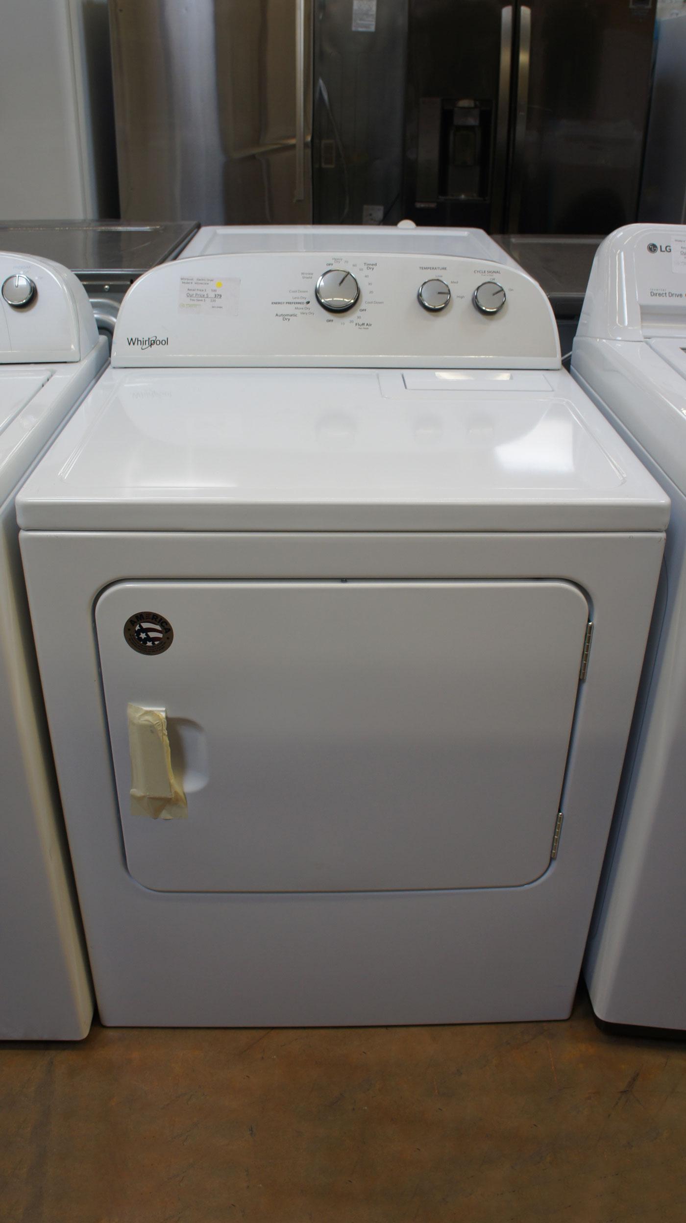Whirlpool WED4815EW Electric Dryer