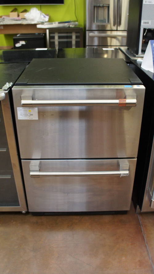 Cafe CDE06RP2NS1 Built-In Dual Drawers Refrigerator