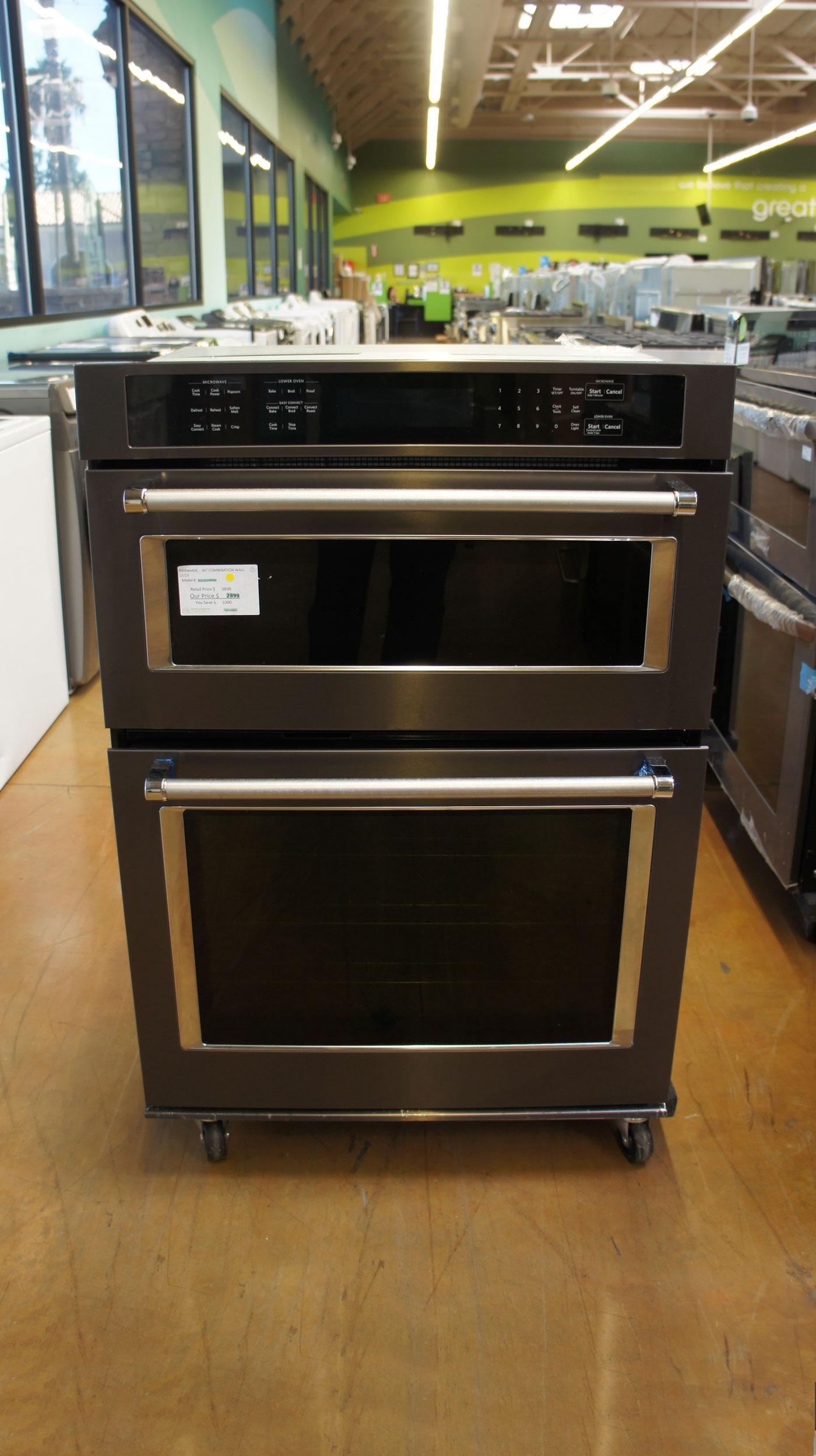 KitchenAid KOCE500EBS Combination Wall Oven