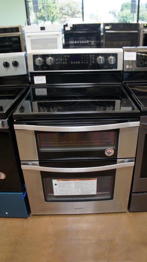Whirlpool WGE745C0FS Dual Oven Electric Range