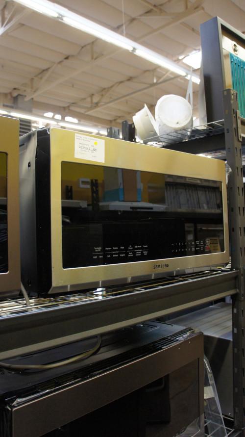 Samsung ME21R706BAT 2.1 cu.ft. Over The Range Microwave