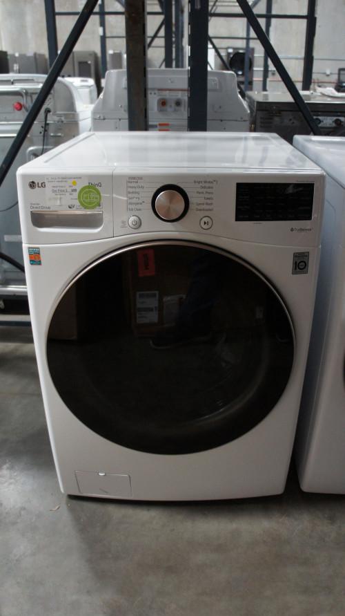 LG WM4000HWA Front Load Smart Washer