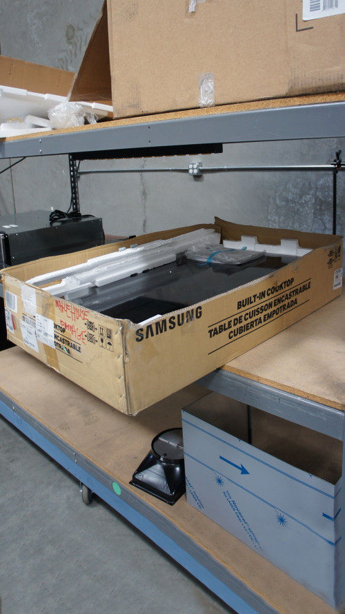 Samsung NZ36K7880US Induction Cooktop