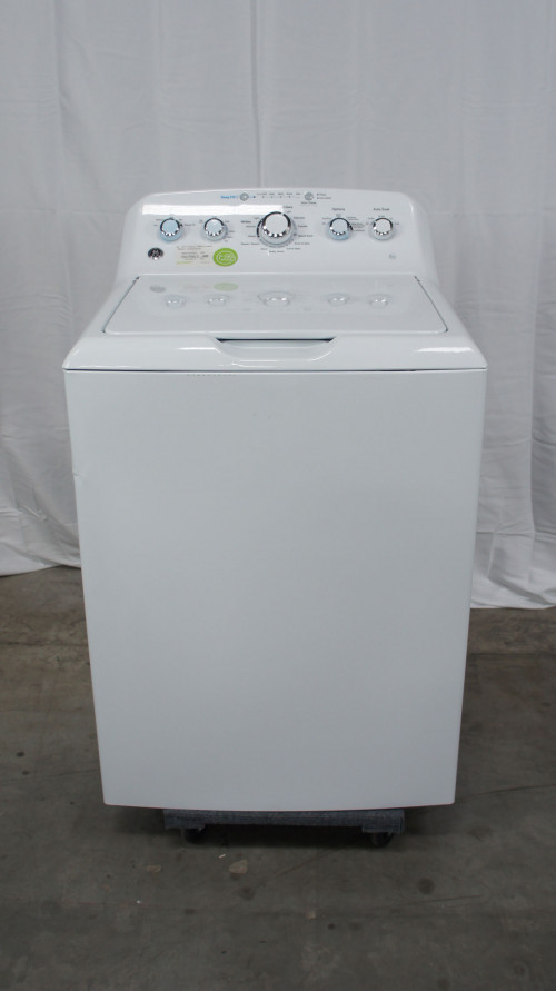 """27"""" GE GTW465ASNWW 4.2 cu.ft. Top Load Washer"""