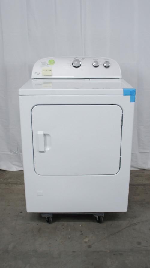 """29"""" Whirlpool WGD4815EW 7.0 cu.ft. Front Load Gas Dryer"""