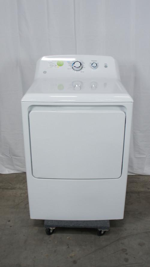"""27"""" GE GTD33GASKWW 6.2 cu.ft. Gas Dryer"""